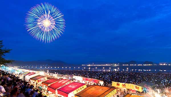 เทศกาล ดอกไม้ไฟ Nagaoka Grand Fireworks Festival