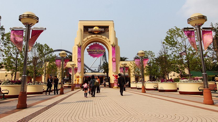 Universal Studios ญี่ปุ่น Osaka จัดเป็น 1 ใน 4 โลก